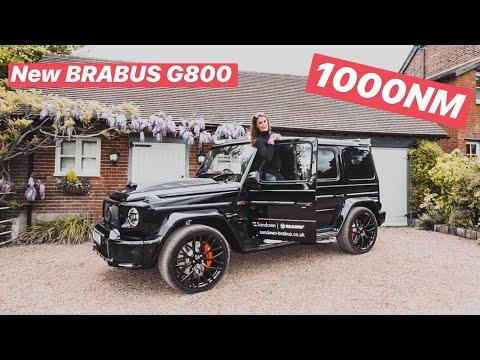 Brand New 2019 BRABUS G800 WIDESTAR - First Drive, Revs & Launch 😈😈😈