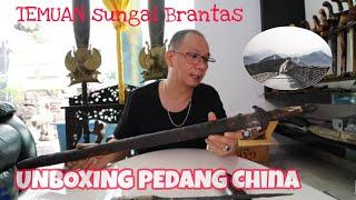 Unboxing Pedang China Dan Tombak Era Singosari