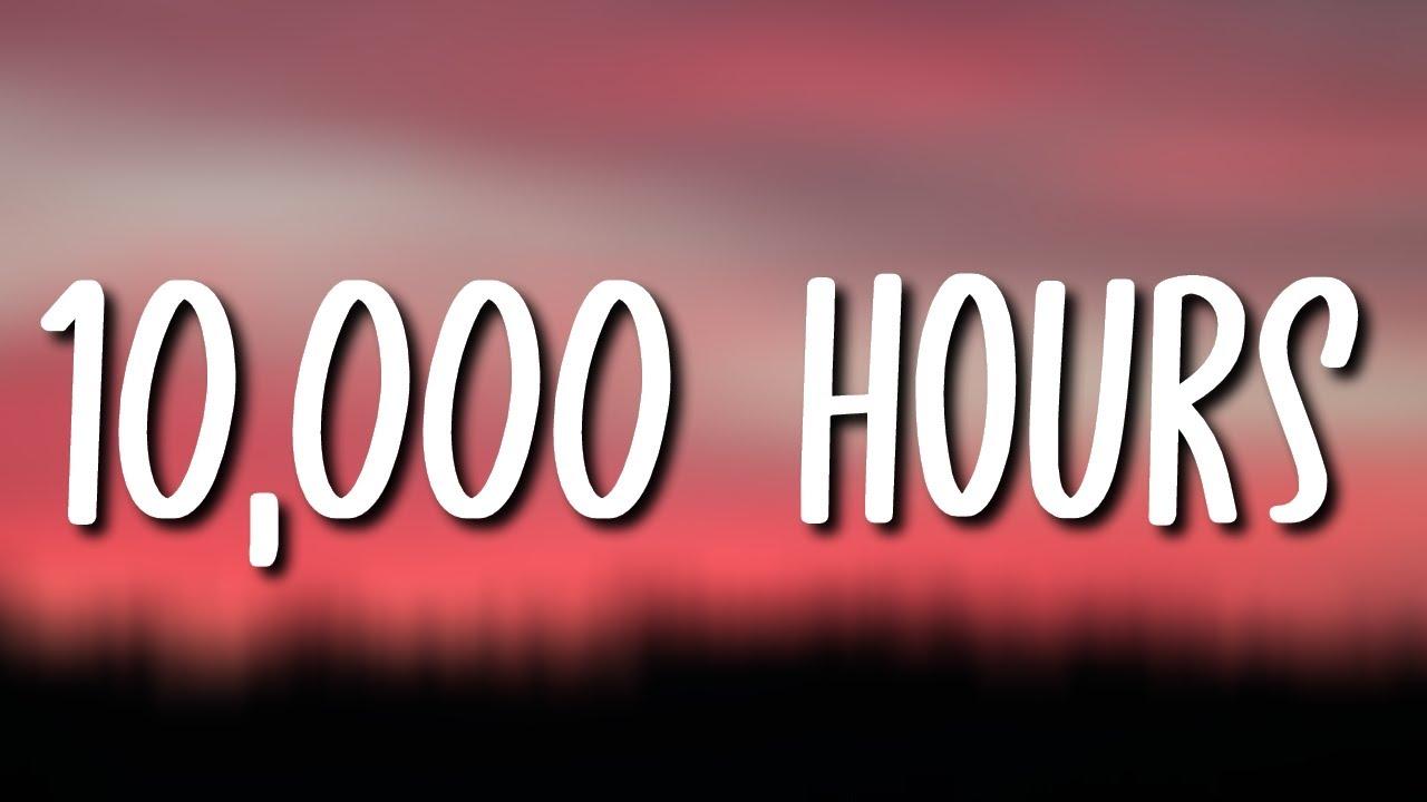 BTS Jungkook (정국) - 10,000 Hours (Lyrics) ❤️