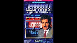 DOS Jeopardy! Deluxe Edition ORIGINAL RUN Game #1