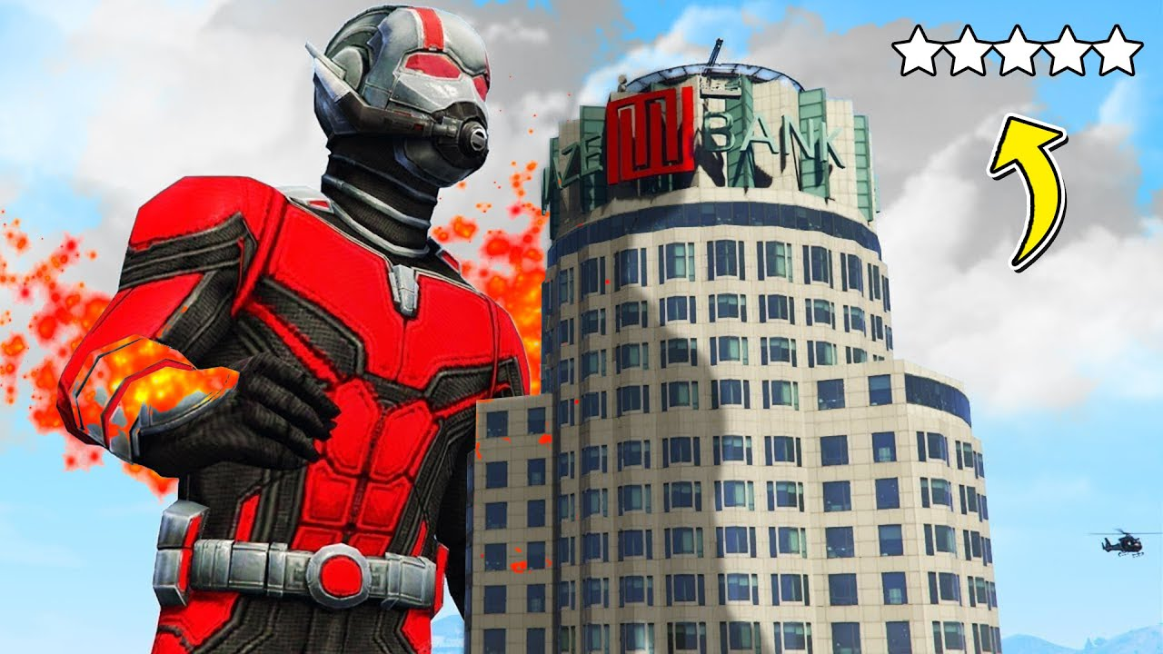 Monster ANTMAN Rusuh di Los Santos
