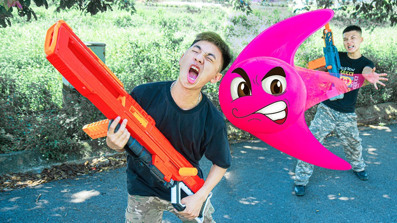 Battle Nerf War: Competition Nerf Guns BALLS COLOR BATTLE