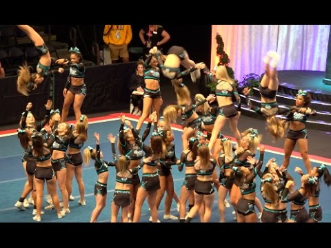 Cheer Extreme Sr Elite Day 2 Worlds HIT ZERO!!