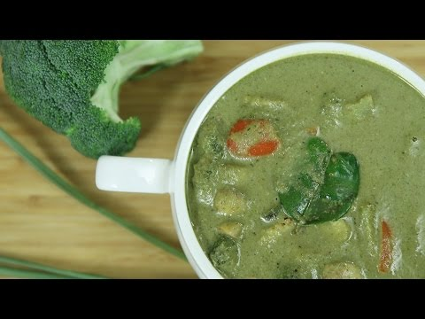 How To Make Thai Green Curry | Thai Green Curry Recipe | Thai Recipes Vegetarian | Ruchi's Kitchen