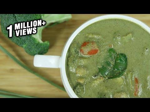 how-to-make-thai-green-curry-|-thai-green-curry-recipe-|-thai-recipes-vegetarian-|-ruchi's-kitchen