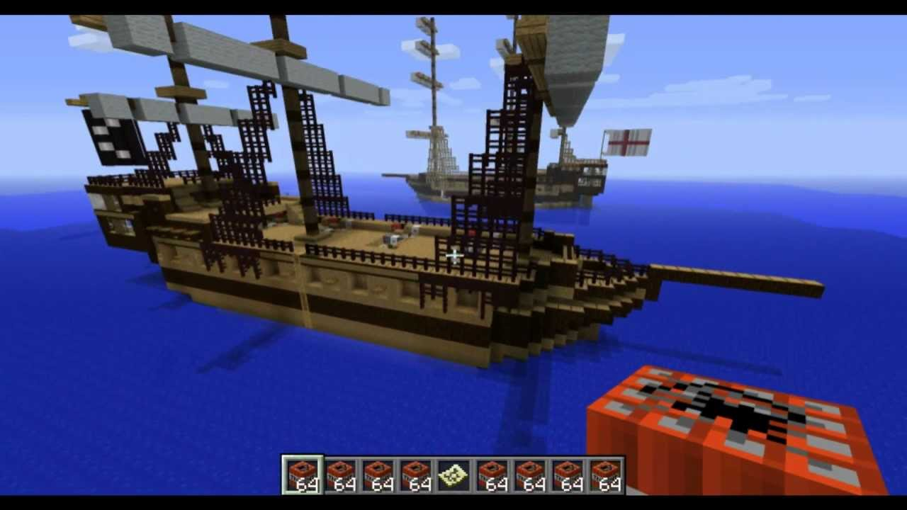 pirate ship minecraft # 11