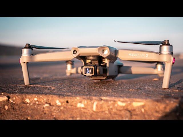 Mavic Air 2 CINEMATIC Test w/ ANAMORPHIC Lens - ANY GOOD?