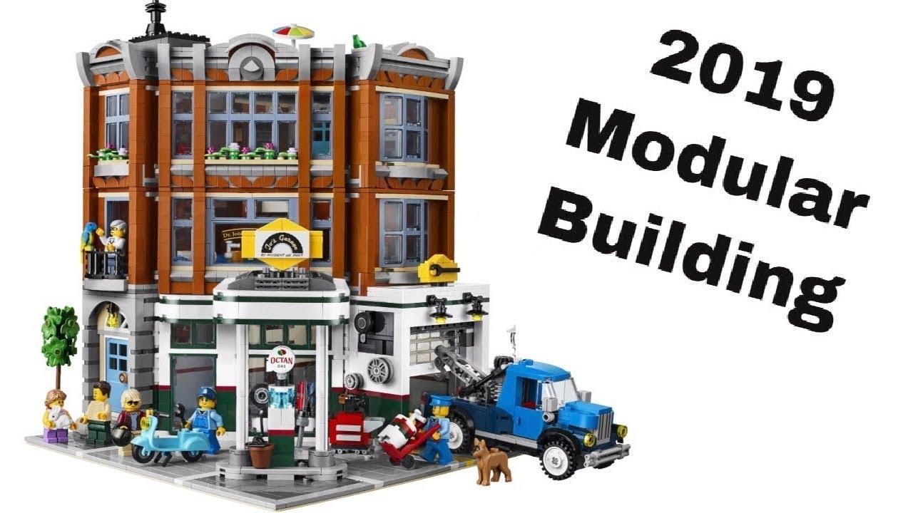 LEGO Corner Garage Preview - 2019 Modular Building! Creator Expert 10264