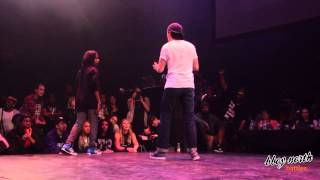 Lady Beast vs ATN - QUARTER FINAL POPPING - BUST A MOVE 2014
