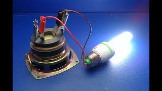 Free Electricity Generator 220V - 240V CFL Energy Light Bulb AC Electric Science Experiment 2019
