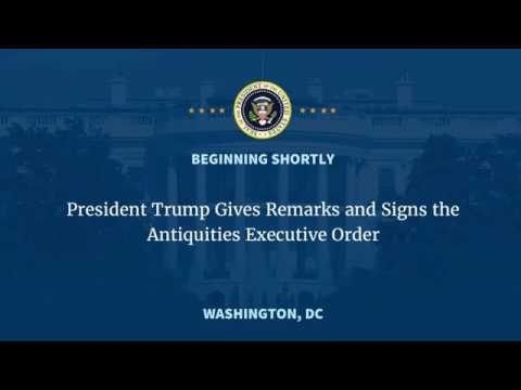 MUST WATCH President Donald Trump Gives Speech and Signs the Antiquities Act Executive Order LIVE