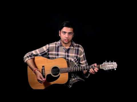 Haareya Song | GUITAR LESSON | COVER | Meri Pyaari Bindu | Ayushmann Khurrana | Arijit Singh