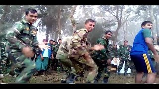 Download lagu BD Army dance Army Soldier amazing dance performance in winter season exercise MP3
