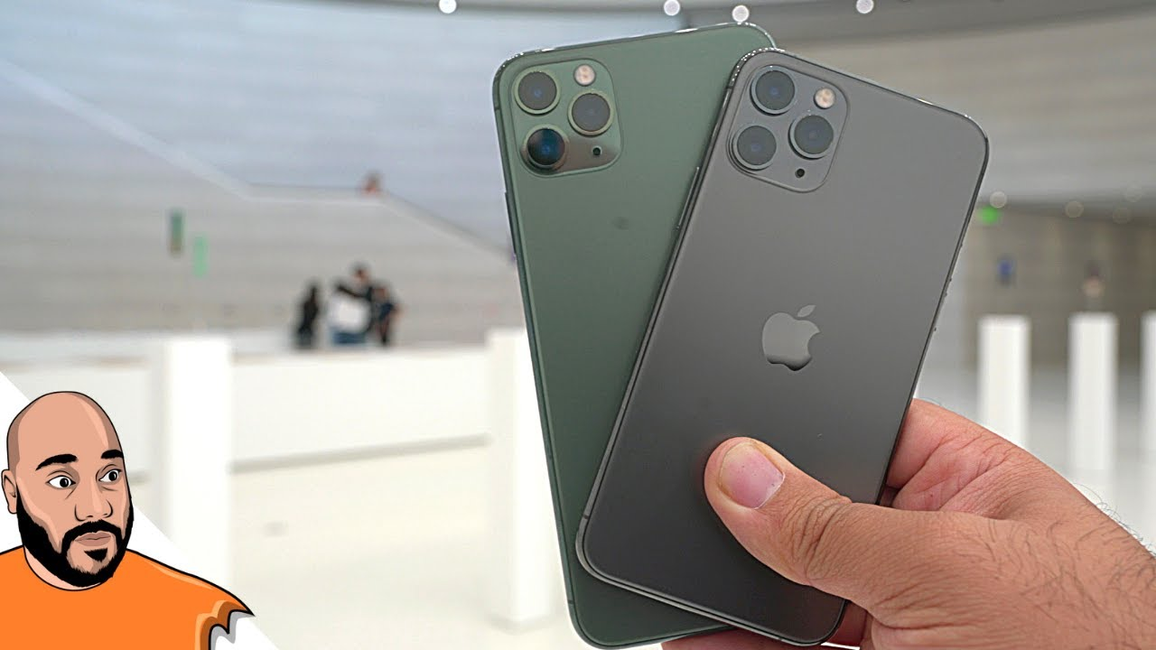 Iphone 11 Pro Iphone 11 Hands On New Features Youtube