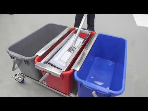 3 Bucket Mopping System   Correct Mopping Protocol