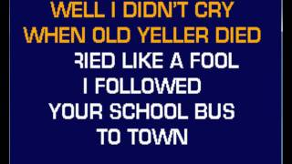 Tough Little Boys-Gary Allen-Karaoke