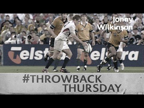 Jonny Wilkinson's memorable drop goal v Australia at RWC 2003 with comms!