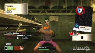 Gotham City Impostors - Ace Chemical: Psych Warfare Gameplay (PS3)