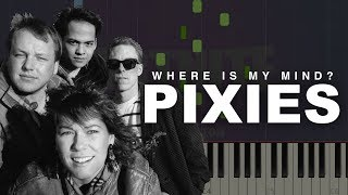 Pixies Where Is My Mind Piano Tutorial Sheets