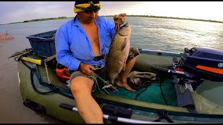 Крутая рыбалка на реке ИЛИ Отличный улов САЗАН АМУР