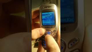 Samsung SGH C200 Обзор телефона.