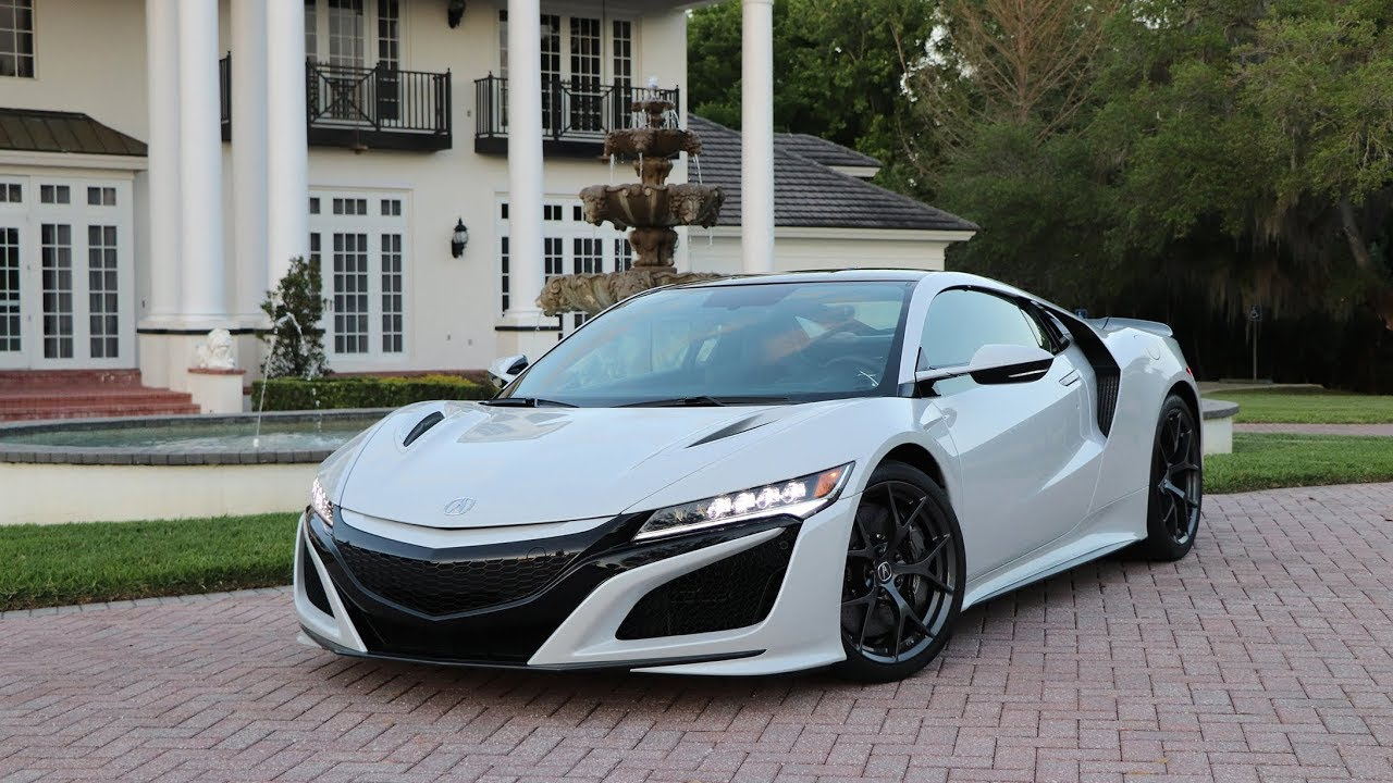 2019 Acura Nsx Test Drive Review The Future Is Here Deal With It