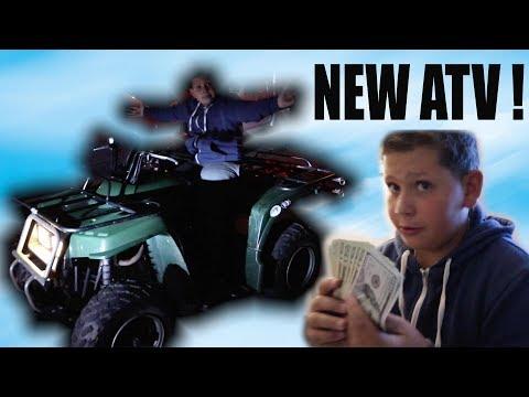 FATTY GOT A NEW ATV !!