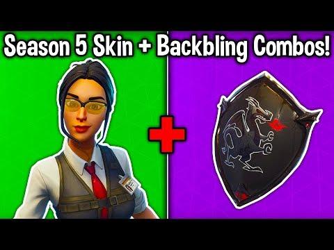 10 BEST SEASON 5 SKIN + BACKBLING COMBOS! (New Battle Pass Combinations)