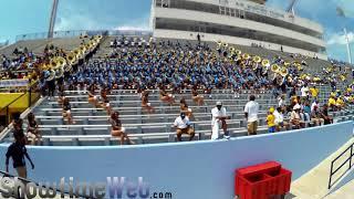 2017 SU Game Highlights - Southern Human Jukebox Marching Band and Dancing Dolls
