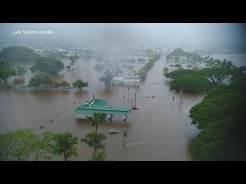 Hawaii faces a flood emergency from Tropical Storm Lane