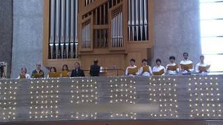 SCHUBERT Zum Sanctus / Heilig Heilig Heilig Chor mit Orgel