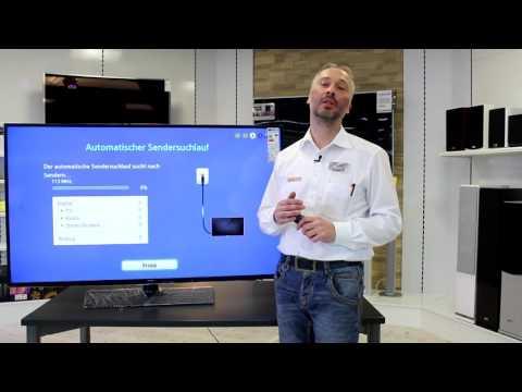 Erstinstallation und Sendersuchlauf beim Samsung UE60J6150 Fernseher - MEDIMAX packt aus!