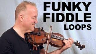 Fiddle Funk- Lowdown Live Looping (Freestyle Improv 2019)