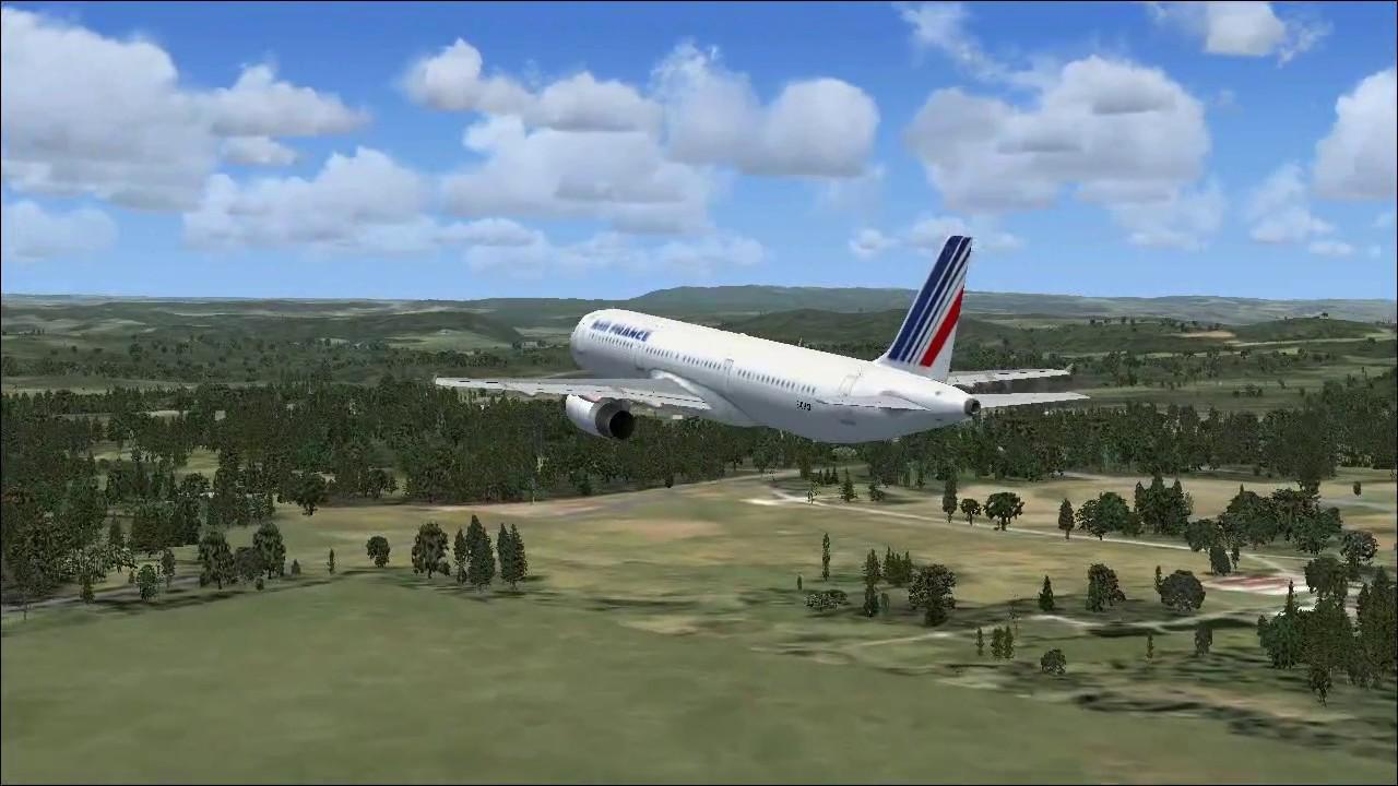 Air France - Airbus A321 - FSX MOD (DOWNLOAD)