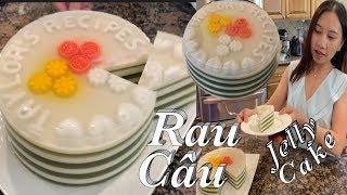 Tuyệt chiêu rau câu lá dứa đường phèn thơm ngon - Jelly layer cake - Taylor Recipes | Cuộc Sống Mỹ