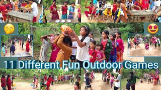 11 Different Fun Outdoor Games | Fun Team Building Games