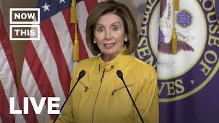 Nancy Pelosi Roasts Mitch McConnell in Live Press Conference | NowThis