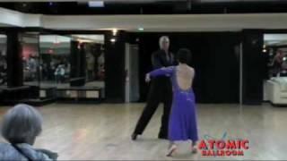 Alex Wilson & Ling Chi Yeh dancing Waltz
