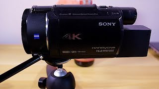 Class: Best 4K Video Settings For The Sony FDR-AX53 and  FDR-AX33