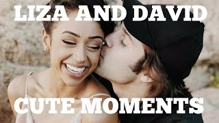 DAVID AND LIZA CUTE/FUNNY MOMENTS