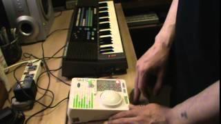 القطبية - اختبار ألفا سلسلة #3 - العينات Casio SK 200+Radica U خلق.
