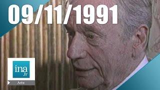 19/20 FR3 du 09 Novembre 1991 - Mort d'Yves Montand | Archive INA