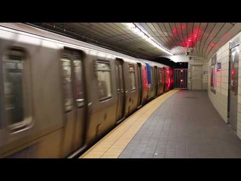 New York / New Jersey PATH Train at Exchange Place