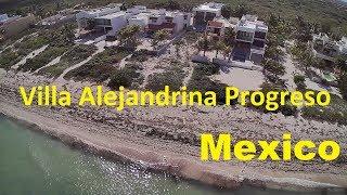 Villa Alejandrina Progreso Mexico Мексика сняли шикарную виллу возле моря фильм 13