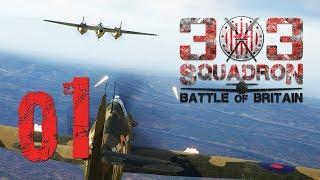POLSCY BOHATEROWIE W ANGLII || 303 Squadron: Battle of Britain [#1]