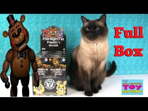 Five Nights At Freddys Funko Mystery Minis Full Case Unboxing Review | PSToyReviews