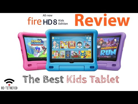 Amazon Fire HD 8 Kids Edition Tablet (2020 Version) Review - The Best Kids Tablet!