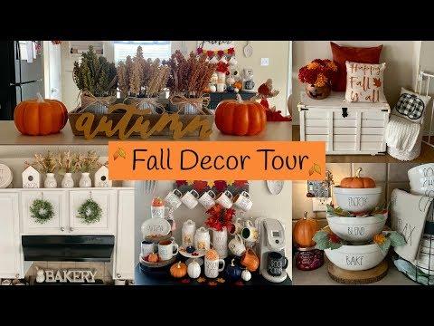 Fall Decor Tour 2019   Rae Dunn Fall Collection