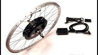 Test présentation kit vélo électrique