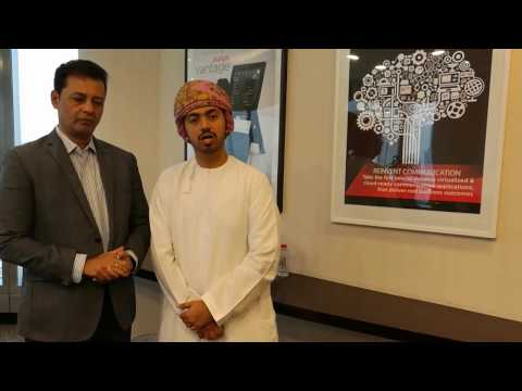 The visit of Ministry of Education of Oman to Avaya